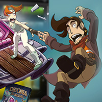 The Entire Deponia series now on Utomik
