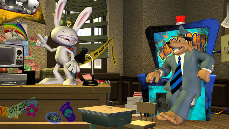Sam & Max are back! Season two now on Utomik.